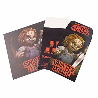 Sinister Extracts Chucky Shatter Labels Strain Envelopes Parchment Sheets #082