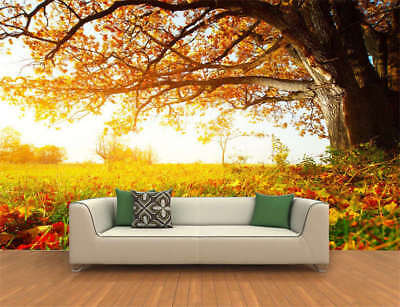 Awesome Nature Tree Full Wall Mural Photo Wallpaper Printing 3D Decor Kids Home