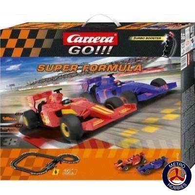 Carrera GO!!! Super Formula Slot Car Set 62413 Brand New