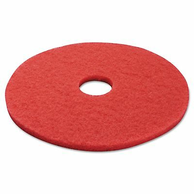 "Boardwalk 4017RED Standard Buffing Floor Pads  17"" Diameter  Red  5/Carton"
