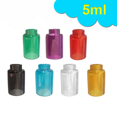 For Aspire Nautilus 5ml Clear Replacement Glass Tank Tube Bell Cap 7 Colors