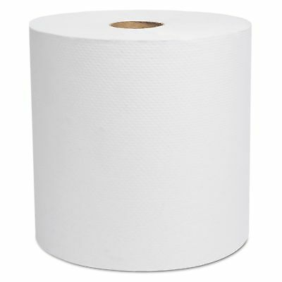 Cascades 1782 North River Hardwound Roll Towels  White  7 78 in x 800 ft