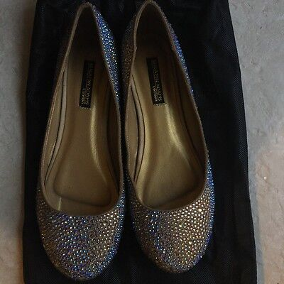 Benjamin Adams London Rhinestone Flats