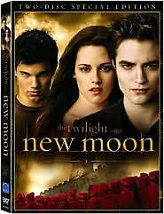 The Twilight Saga: New Moon (DVD, 2010, 2-Disc Set, Special Edition) NEW Sealed