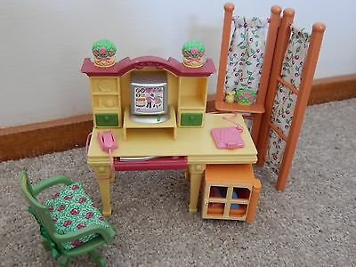 Fisher Price Loving Family Dollhouse Furniture Study