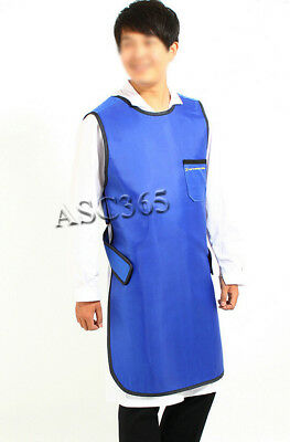 0.35mmPb X-Ray Protection Apron Protective Lead Vest Cover Shield With Collar L