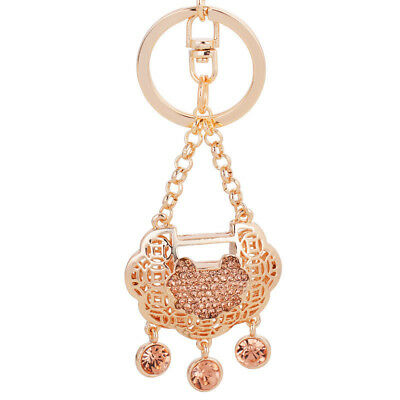 Feng Shui Keychain Longeval lock Traditional Chinese Gifts To Youth