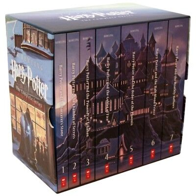 Special Edition Harry Potter Paperback Box Set by J.K. Rowling