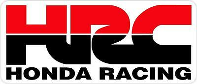 "#k303 (1) 3"" HONDA Racing HRC superbike motorcycle decal sticker vinyl CBR"
