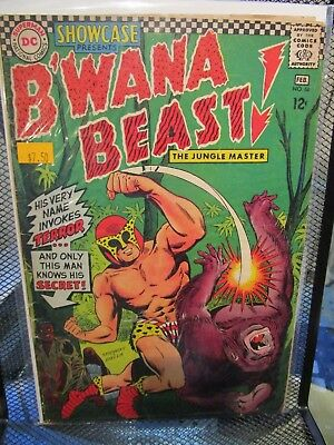 Showcase Presents B'Wana Beast #66 DC Silver Age Comics The Jungle Master