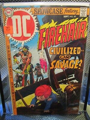 Showcase Presents Firehair #85 DC Silver Age Comics Civilized or Savage?