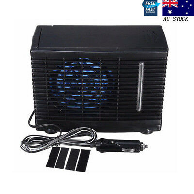 Portable 12V Air Conditioner For Car Home Evaporative Water Cooler Cooling Fan