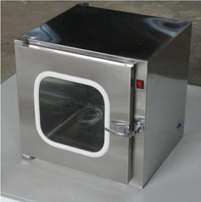Stainless Steel Cleanroom Tech Pass Through Cleanroom Eauipment 220V U