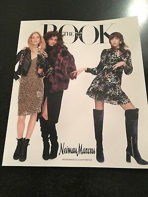 Neiman Marcus THE BOOK Catalog Magazine October 2017 FREE SHIPPING