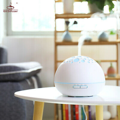 LED Oil Aroma aromatherapy diffuser humidifier Essential Ultrasonic Air Purifier