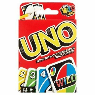UNO Cards - Genuine Mattel - Playing Card Game - Australia only