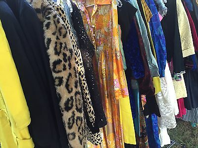 Vintage Clothing Lot Wholesale Men's & Women's  And Fabric And Jewelry
