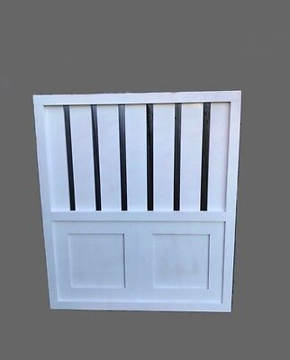 Timber Gate Hamptons style 1m h x 88cm w PRIMED & READY TO PAINT Custom Built