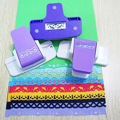 DIY Border Punch Flower Embossing Punch Scrapbooking Paper Cutter Gifts Decor