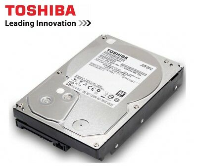 "Toshiba 4TB 7200 RPM 64MB SATA3 6.0Gb/s 3.5"" HDD Internal Desktop Hard Drive"