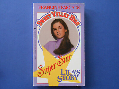 Sweet Valley High Super Star Edition - Lila's Story - Francine Pascal **like New