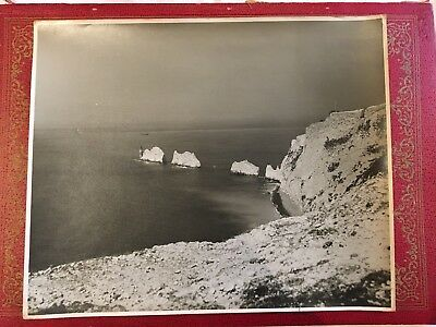 Beken Of Cowes - Original Prints - Two Views Of The Needles. Isle Of Wight 1966