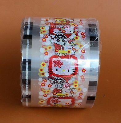 3000 Cups Milk sealing film tea cup seal Smiling face printing healthy material