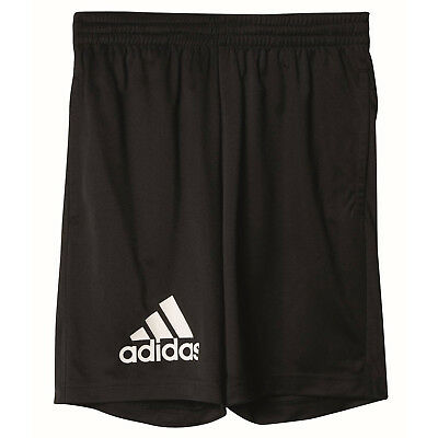 adidas Gear Up Knit Short Kinder Jungen Fitness Shorts Sporthose kurz schwarz