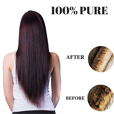 100% PURE Hydrolysed Keratin DIY Hair Treatment STRAIGHT HAIR VERY EFFECTIVE !!!