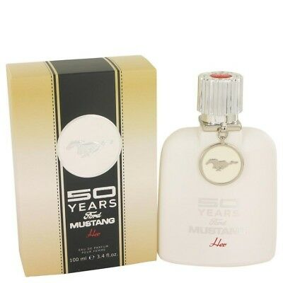 50 Years Ford Mustang by Ford Eau De Parfum Spray 3.4 oz / 100 ml For Women