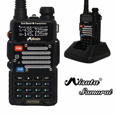 Baofeng x Misuta Samurai Dual Band Two Way FM Ham Radio + UV-5R Earpiece UK