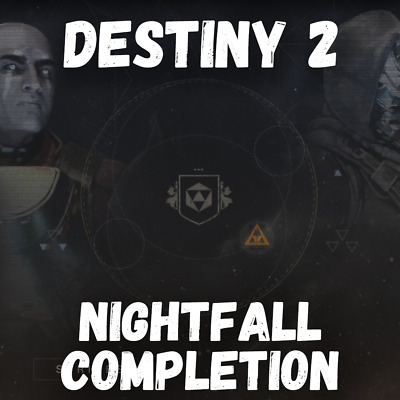 Destiny 2: Nightfall Completion - PS4 Recovery or Carry