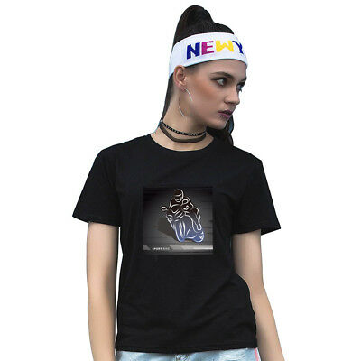 AS_ Motorcycle Racer Print Round Neck Short Sleeve Unisex Top Tee T-Shirt Deluxe