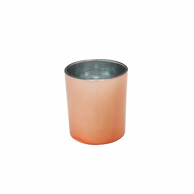 Glass Candle Jar 300ml Rose Gold x96