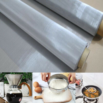 36x12'' 120 Mesh 125 Micron Stainless Steel Woven Wire Cloth Filtration Screen