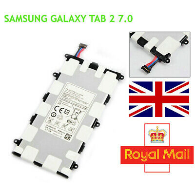 Replacement Battery for Samsung Galaxy Tab 2 7.0 P6200 P6208 P3100 P3110 4000mAh