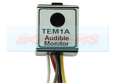 Tem1A 12V Audible Sensor Buzzer Relay For Towing Towing Towbar Trailer Electrics