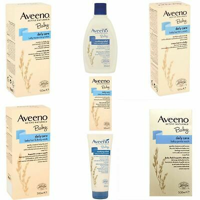Aveeno Baby | Daily Care Body Wash Emolient Cream Soothing | Full Range