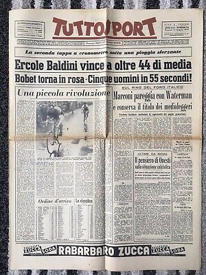 1957 EUROPEAN CUP FINAL Real Madrid v Fiorentina ''TUTTOSPORT''