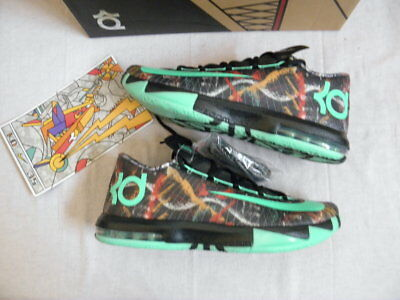 the best attitude c9ad5 b5ed0 Nike Air KD6 KD 6 VI All-Star Gumbo NOLA size 11 DS NEW Kevin
