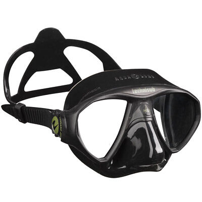Aqualung Technisub Micromask BLACK Diving  Mask, Made in Italy