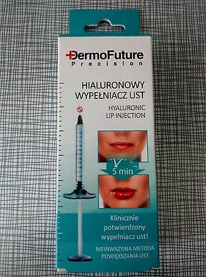 DermoFuture Precision Lip Plumper Hyaluronic Acid  Filler Booster ANTI WRINKLE