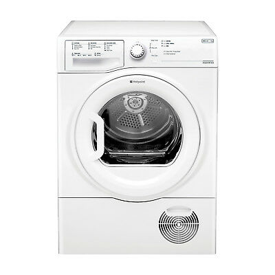 Hotpoint TCFS93BGP Condenser Dryer, 9 Kg Drying Capacity - White