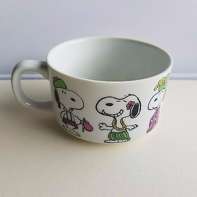 Vintage Snoopy Peanuts in disguises Soup Bowl Coffee Cup Mug - Determined Prods