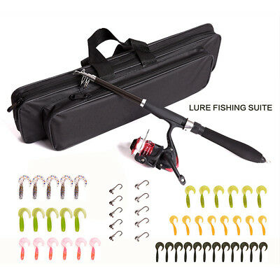 Fly Fishing Rod with Reel Combo Set with Fishing Line Fishing Flies Full Kit New