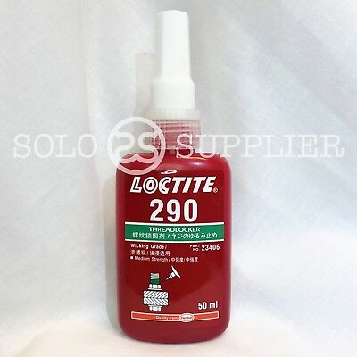 Loctite 290 Medium Strength Threadlocker Wicking Grade 50ml - Fast Shipping
