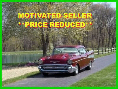 1957 Chevrolet Bel Air/150/210 Coupe Total Frame Off Restoration 1957 Chevrolet Bel Air Coupe, 383 Stroker, 350 Auto Transmission, Show Car