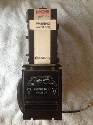 Coinco BA32R Bill Acceptor Validator with Bill Box