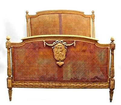 French Louis XVI Style (19/20th Cent.) Stripped Full Size Bed