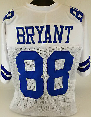 Dez Bryant Unsigned Custom Sewn White Football Jersey Size L Xl 2xl